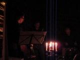 Джаз в первый раз на Квартирнике при свечах на б-ре Дружбы Народов (6 апреля 2012)